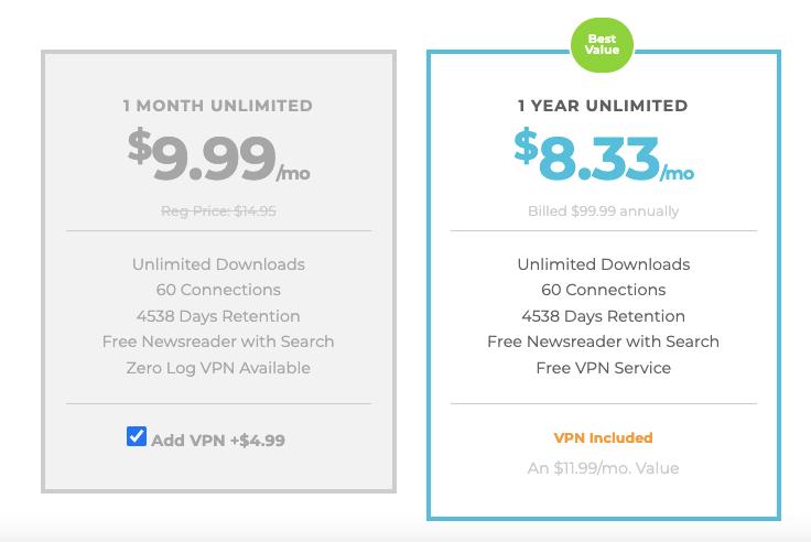Newshosting Lifetime Discount Pricing