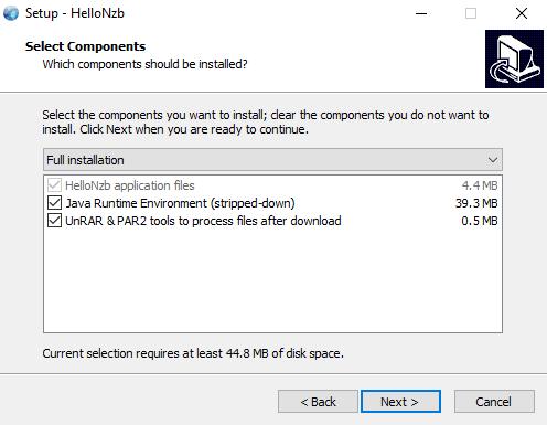Hellonzb Components