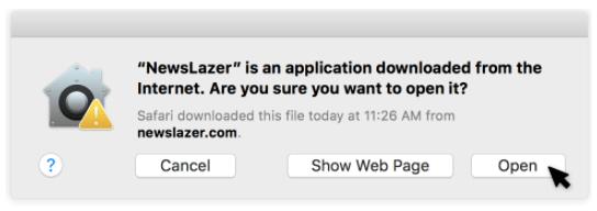 Newslazer Install4