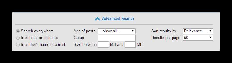 Nzbfriends Advanced Search